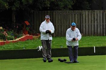CHAS Bowling Club - Action shot