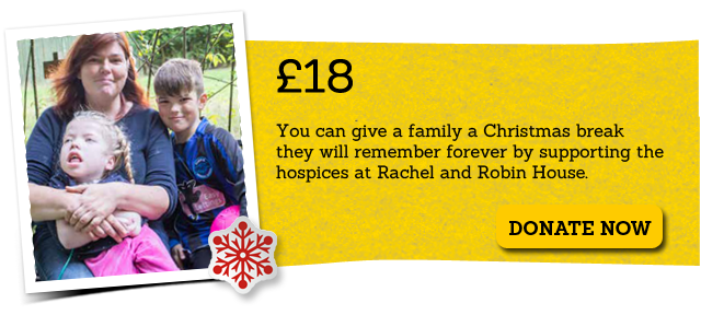 £18 - You can give a family a Christmas they will remember forever - Donate Now